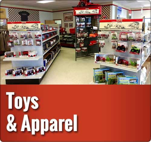 Toys and Apparel